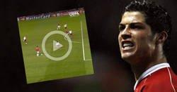 Enlace a HISTORIA VIVA: Ayer se cumplieron 12 años del primer gol de Cristiano en la Champions League