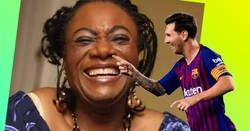 Enlace a La madre de Lukaku cuando se cruzó con Messi