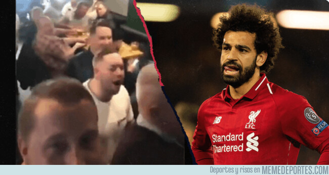 1071174 - El cántico mega-racista de fans del Chelsea a Salah avergüenza a Europa