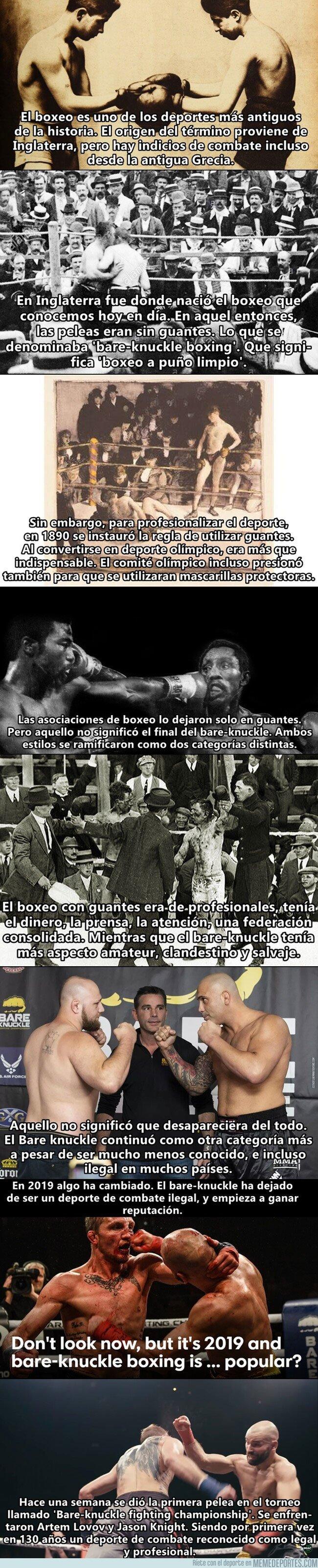 1071218 - Una vieja rama del boxeo podría convertirse en el nuevo boxeo.