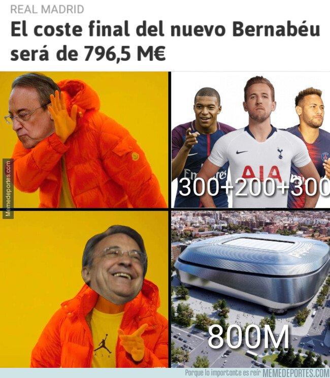 1071253 - Florentino prefiere el nuevo estadio antes que cracks para su equipo