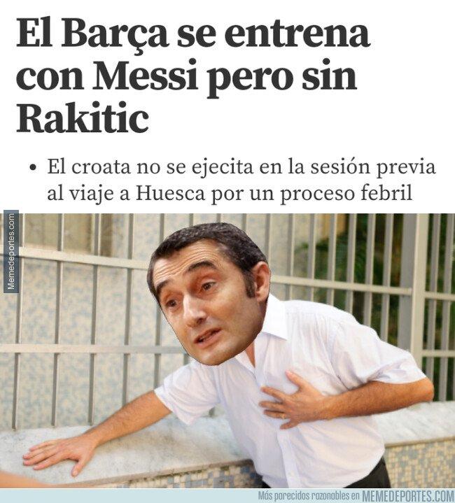1071256 - Valverde padece más que nadie la baja de Rakitic