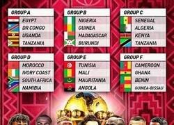 Enlace a Así quedan los grupos de la Copa África 2019, por @433