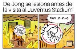 Enlace a Al Ajax cada vez se le complica más la papeleta