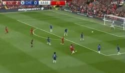 Enlace a Salah anotó uno de los mejores goles en lo que va de Premier