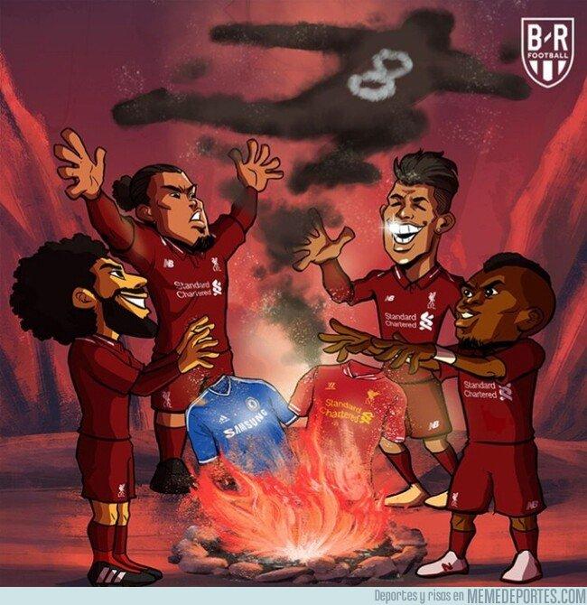 1071434 - El Liverpool espantó los fantasmas del pasado ante el Chelsea, por @brfootball