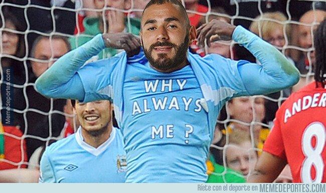 1071512 - Karim siempre sacando la cara por el Real Madrid