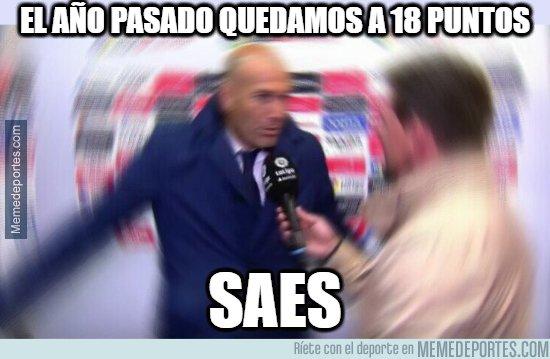 1071516 - Para Zidane la temporada es excelente