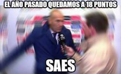 Enlace a Para Zidane la temporada es excelente