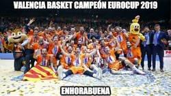 Enlace a 4º título de Eurocup