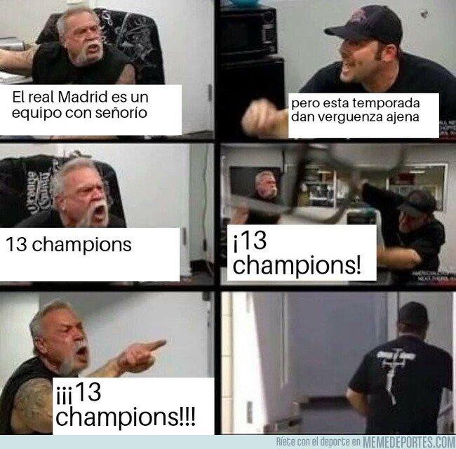 1071518 - ¡13 champions hostia!