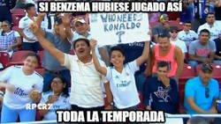 Enlace a Benzema salvando al Madrid