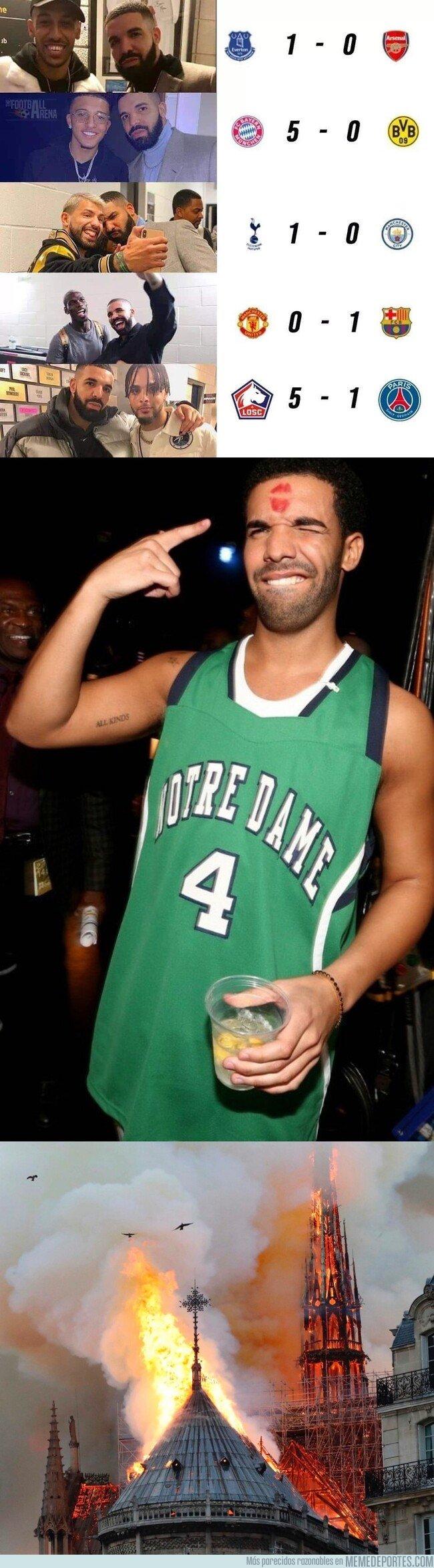1071565 - Lo de Drake ya va más allá de los equipos de fútbol