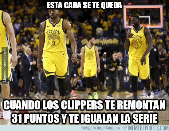 1071590 - Los Clippers lograron la mayor remontada en la historia de los Playoffs