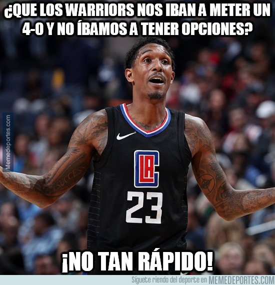 1071592 - Los Warriors no contaban con Lou Williams