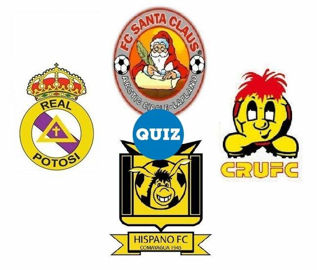 1071601 - QUIZ: ¿Cuáles son escudos de clubes de fútbol y cuáles no?