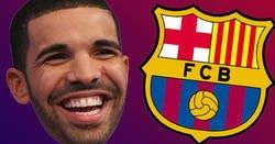 Enlace a La imagen de Drake que ningún culé quiere ver. Sí, la tenemos
