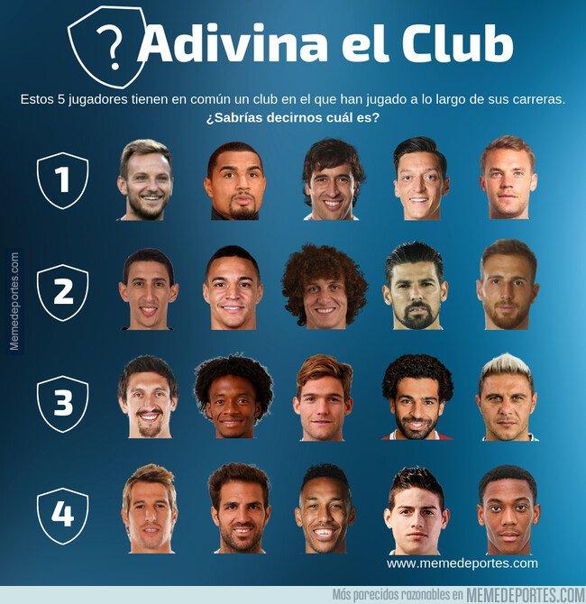 1071616 - ¿Qué equipo tienen en común estos 5 jugadores? ¡Adivina el Club!