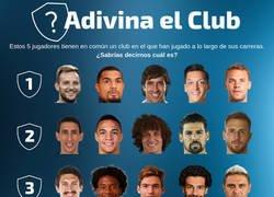 Enlace a ¿Qué equipo tienen en común estos 5 jugadores? ¡Adivina el Club!