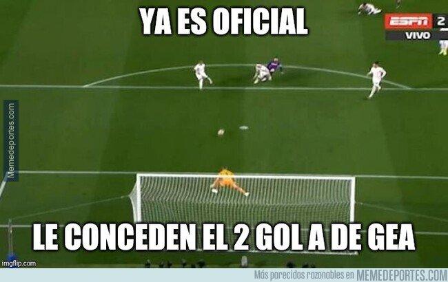 1071663 - Le dan el segundo gol a De Gea