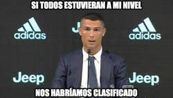 Enlace a Cristiano Ronaldo ya ha dado sus declaraciones por la eliminación
