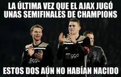Enlace a El Ajax no llegaba tan lejos desde 1997