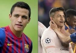 Enlace a Alexis envejeció 20 años al llegar al United