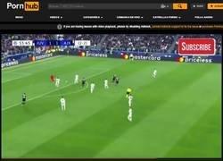 Enlace a No es coña. Alguien de verdad subió el resumen del Juventus-Ajax a Prnhub