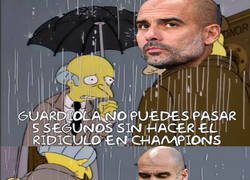 Enlace a Guardiola y la Champions