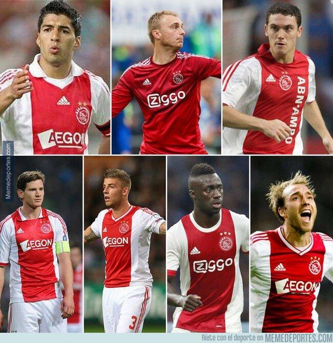 1072032 - Muchos ex del Ajax en semis de Champions