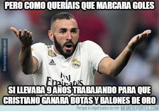1072183 - Benzema aclara las cosas a sus haters