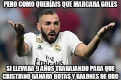 Enlace a Benzema aclara las cosas a sus haters