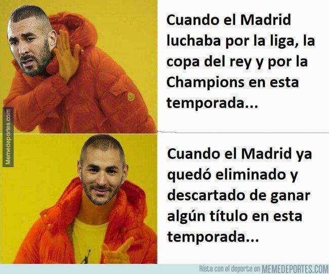 1072193 - El instinto goleador y ganador de partidos de Benzema ha llegado un poco tarde para el Real Madrid...