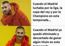 Enlace a El instinto goleador y ganador de partidos de Benzema ha llegado un poco tarde para el Real Madrid...