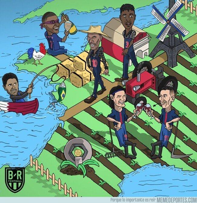 1072247 - El PSG ya celebra su liga de granjeros, por @brfootball