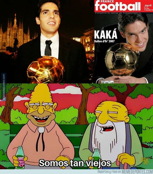 1072290 - Cuando recuerdas que pasaron 12 años desde que Kaká ganó el balón de oro