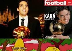 Enlace a Cuando recuerdas que pasaron 12 años desde que Kaká ganó el balón de oro