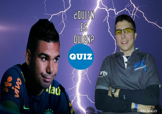 1072386 - TEST LOCO: ¿Willyrex o Casemiro?