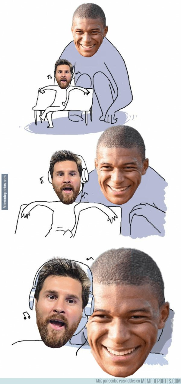 1072427 - Messi se queda sin mojar y tiene a Mbappé muy cerca en la bota de oro
