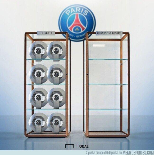 1072446 - En Paris hay una vitrina algo más vacía que la de las ligas, por @goalenespanol