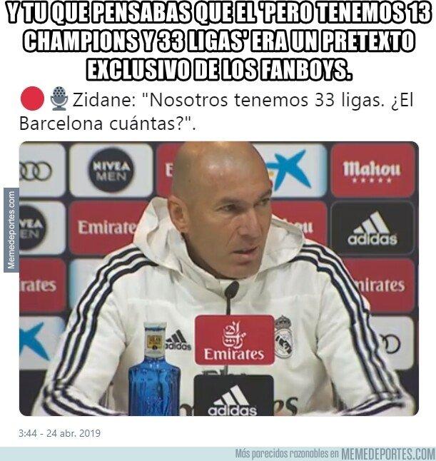 1072483 - Se acabaron los argumentos futbolísticos. Y Zidane lo sabe.