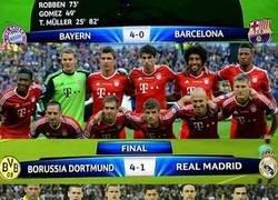 Enlace a Hace 6 años los alemanes dañaron los planes de 'El Clásico' en la final de Champions