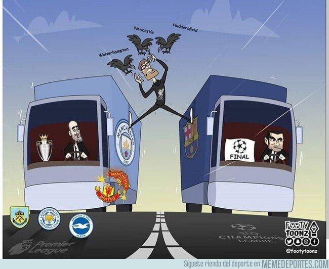 1072614 - El Liverpool tiene varios frentes abiertos en este final de temporada, por @footytoonz