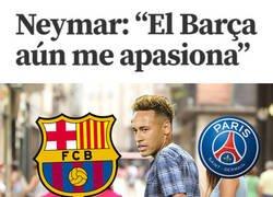 Enlace a Neymar lanza guiños a diestro y siniestro