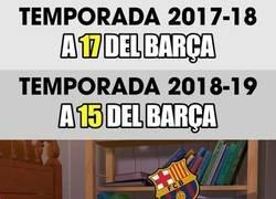 Enlace a Cada vez más cerca del Barça, deben seguir practicando