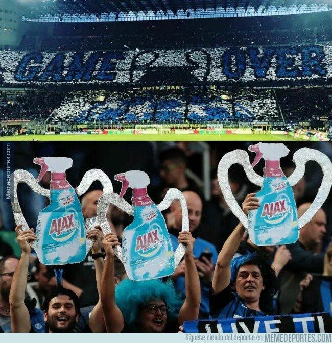 1072743 - Burlarse del rival nivel aficionados del Inter