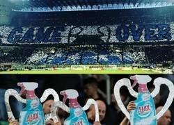 Enlace a Burlarse del rival nivel aficionados del Inter