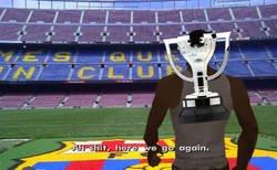 Enlace a El trofeo de LaLiga ya está acostumbrado a pasar por el Camp Nou