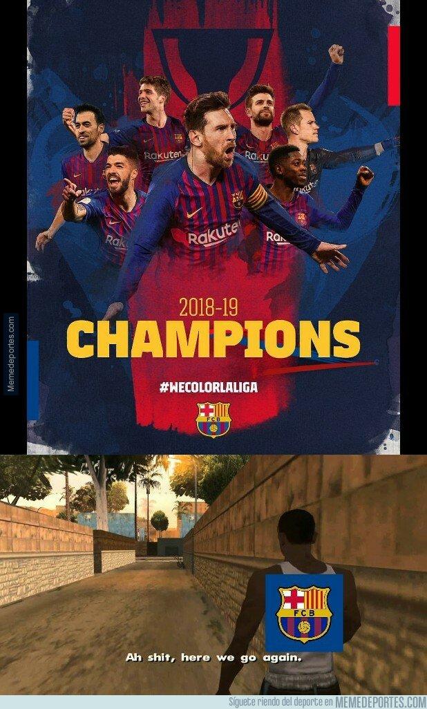 1072760 - El Barça celebra su Liga número 26