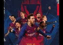 Enlace a El Barça celebra su Liga número 26